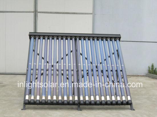 Sealed Metal Vacuum Tube Heat Pipe Solar Collctor (Germany blue titanium coating)