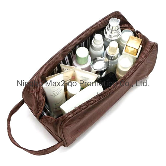 Nylon Cosmetic Case Toiletry Bag for Cosmetic