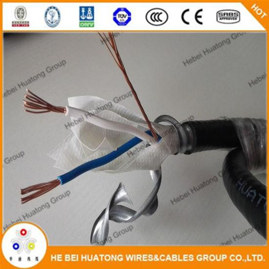 China 12/3 Aluminum Mc Cable, Type Mc AC Bx Cable - China Mc Cable ...