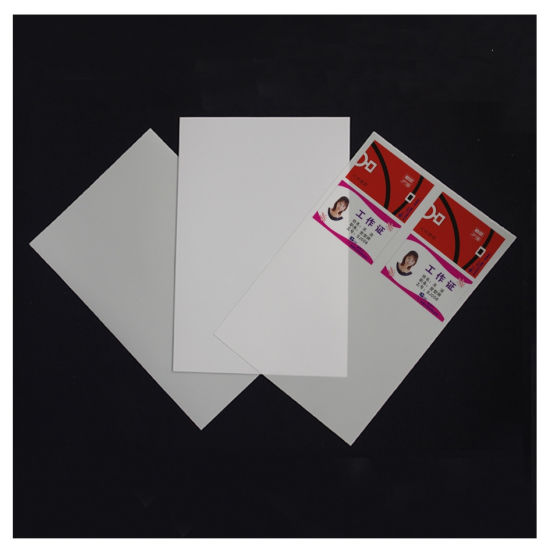 Wholsale Price Silver Instant Printing PVC Sheet PVC Material pictures & photos