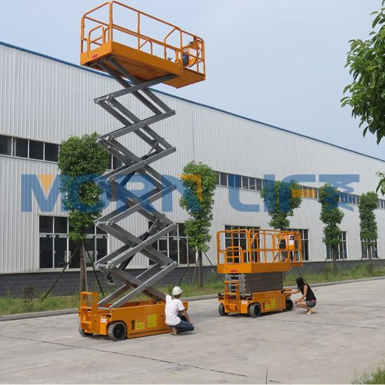 Electric Elevated Aerial Work Platform Scissor Lift with CE Certification