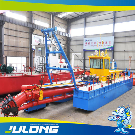 Customized Cutter Head Sand Dredger for Sea