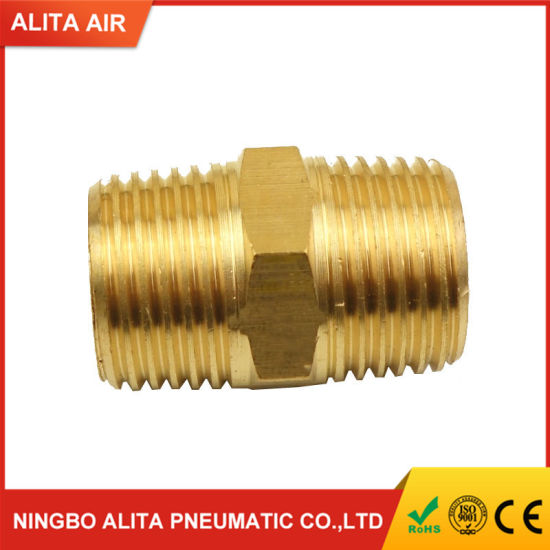 """1* Brass BSP-NPT Adapter 1//8/"""" BSPT To 1//4/"""" NPT Pipe Fitting Tools Replacement"""