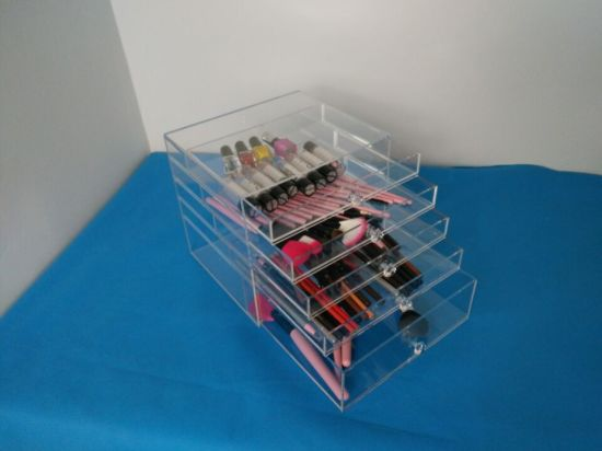 5 Drawer Organizer for Lipstick, Nail Polish, Brushes, Jewelry and More