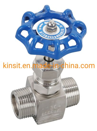 "New 1/2"" Fnpt X Fnpt 316 Stainless 6000 Psi Needle Valve pictures & photos"