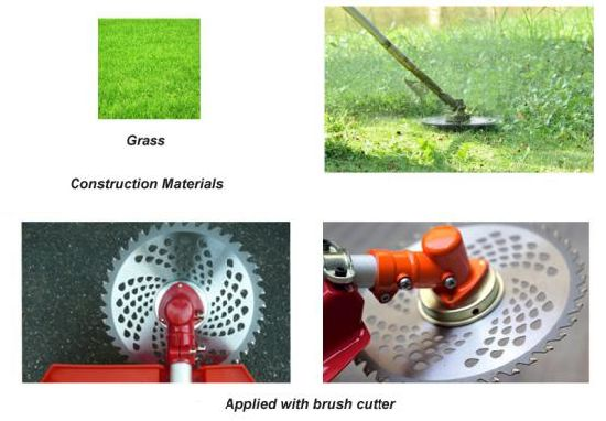 Diamond Tct Circular Saw Blade for Cutting Grass pictures & photos