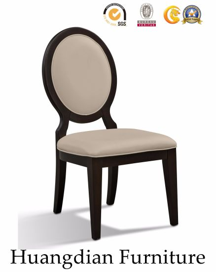 Factory Price Round Back Chair Wooden Dining Room Furniture (HD456)