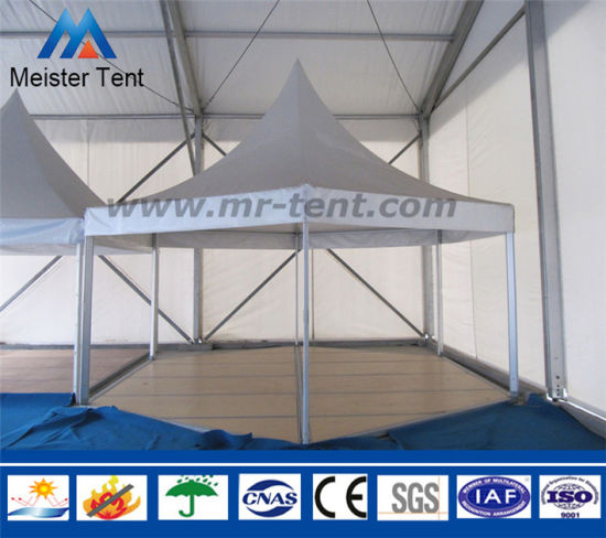 Small 4X4m, 5X5m Trade Show Event Tent Pagoda Party Tent pictures & photos