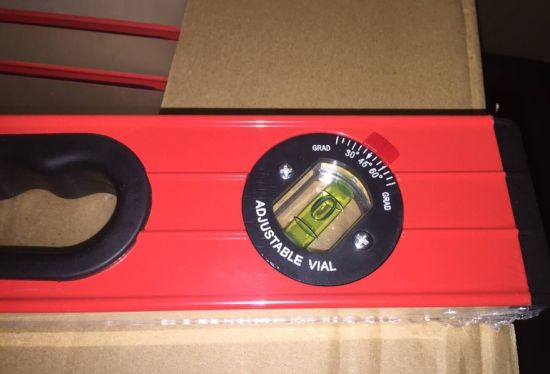 "24"" Heavy Duty Aluminum Box Level Spirit Level with Magnifier pictures & photos"