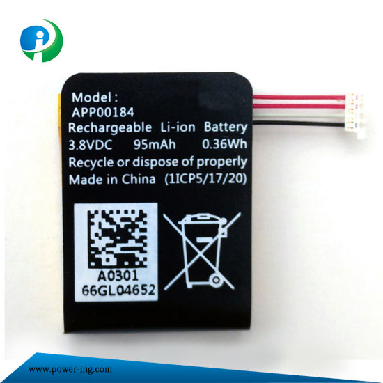 3.8V 95mAh High Quality Polymer Battery pictures & photos