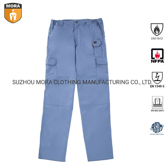 Fr Clothing 100% Fr Cotton Fr Pants Trousers with Pockets