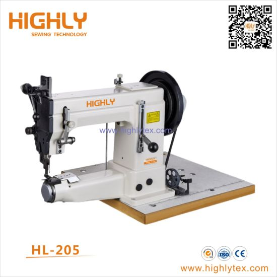Hl-205 Cylinder Bed Extra Heavy Duty Shoes Sewing Machine