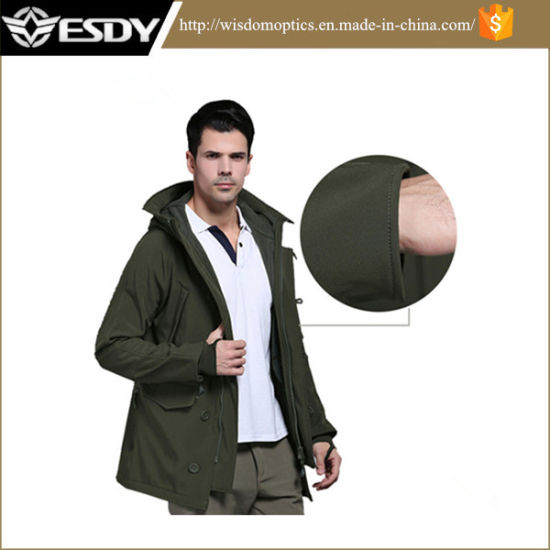 Outdoor Tactical Army Green Military Windbreaker Clothing pictures & photos