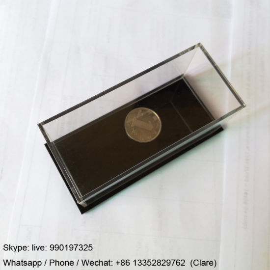 Small Size Acrylic Display Box for Coin