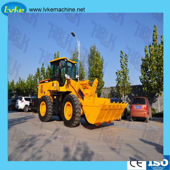 CE Certificate Construction Machine Wheel Loader pictures & photos