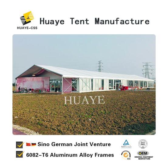 German Wedding Tents With Gl Walls For Luxury Weddings Hy017g