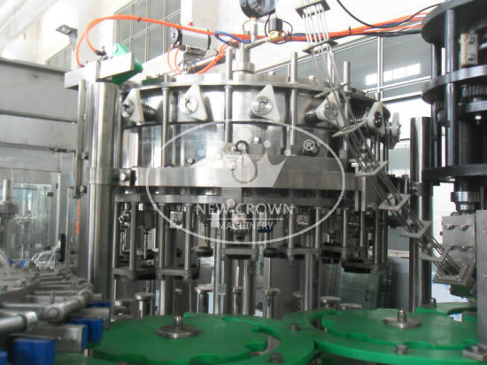 Automatic Carbonated Beverage Production Line (YFDY24-24-8) pictures & photos