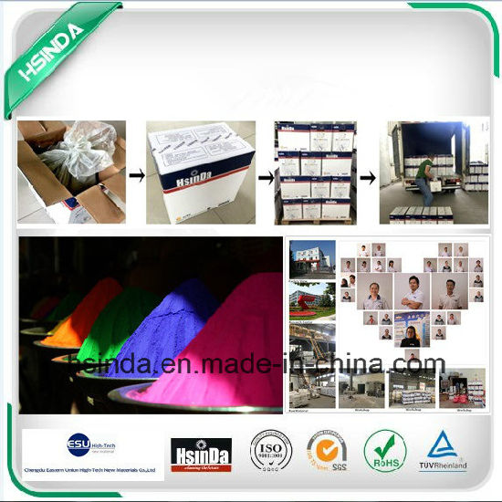 Hot Sale High Gloss Metallic Shiny Silver Transparent Powder Coating pictures & photos