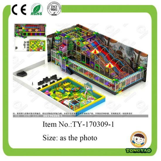 New Style Indoor Children Playground (TY-170309-1)