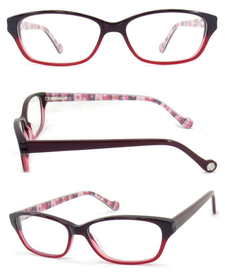 Glasses Cases Custom Logo, Acetate Optical /Eyewear Frame New Style Plastic Case for Glasses