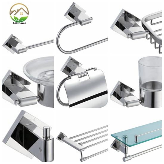 wall mounted bathroom accessories set. High Quality Stainless Steel 304 Bathroom Accessories Set Wall Mounted  Hotel Project China