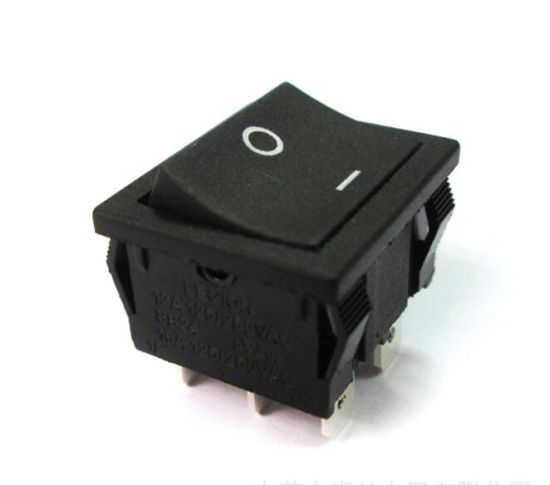 Power Dpst 16A250VAC Micro Button Rocker Paddle Switch for Stereo pictures & photos