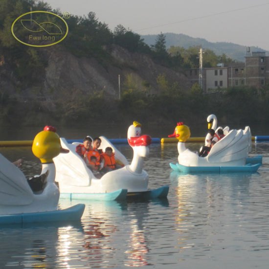 Plastic with Steel Skeleton Tour Pedalo Boat