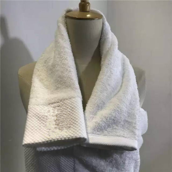 Eco-Friendly 100% Cottom Bath Towel Face Towel Hotel pictures & photos