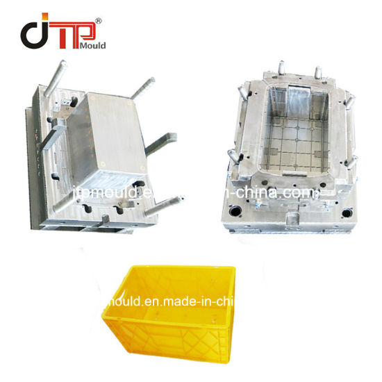 Good Fashion Design of Plastic Injection Storage Crate Mould
