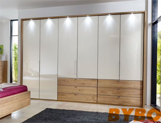 China High Glossy Lacquer And Timber Veneer Finish