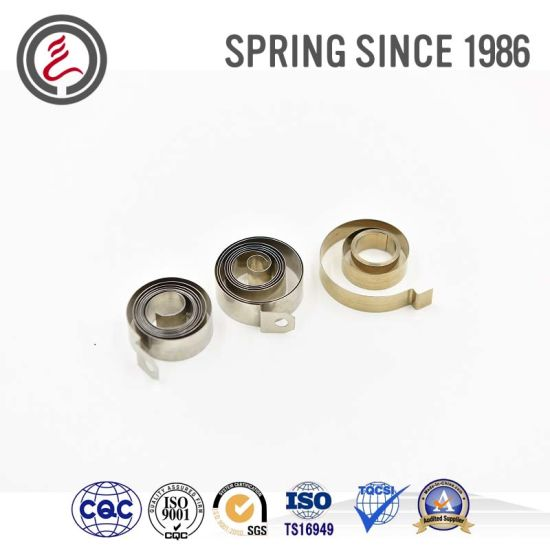 Widely Used Custom Stainless Steel Small Constant Spring Pictures Photos