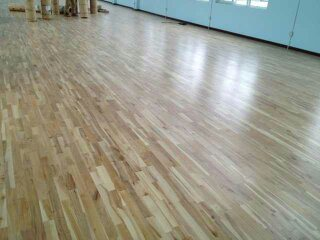 Interior Decorating Materials Finger-Joint Maple Wood Flooring