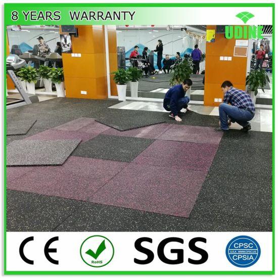 EPDM Crossfit Gym Mat/Rubber Interlocking Flooring