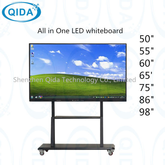 65, 75, 85, 98-Inch LED LCD Display with OPS PC Interactive Whiteboard