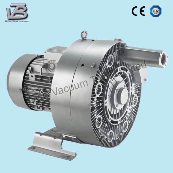 Side Channel Vacuum Regenerative Blower for Material Handling pictures & photos