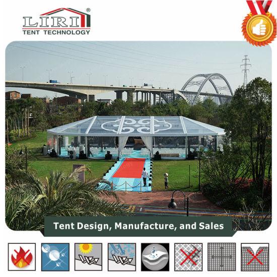 Aluminum Five Star High Peak Clear Tent Resort Tent Restaurant for 500 People & China Aluminum Five Star High Peak Clear Tent Resort Tent ...