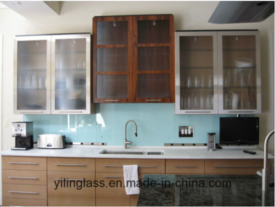 Toughened Color Printed Splashback Glass pictures & photos