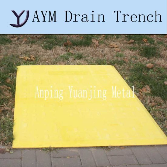 china temporary trench cover for road trench drain china drain
