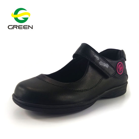 b00ae15560531 Greenshoe China Factory Children Leather School Shoes Wholesale Black  School Shoes Girl Kids School Shoes pictures