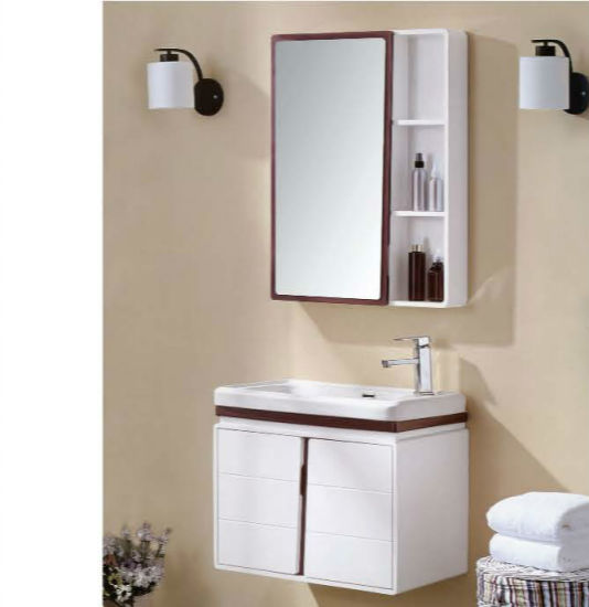 China Low Price Pvc Bathroom Vanity With Mirror Cabinet China Bathroom Cabinet Sanitary Ware