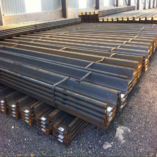 Cold Bend U Type & Z Type Steel Sheet Piles Size 400mm*100mm*10 5mm