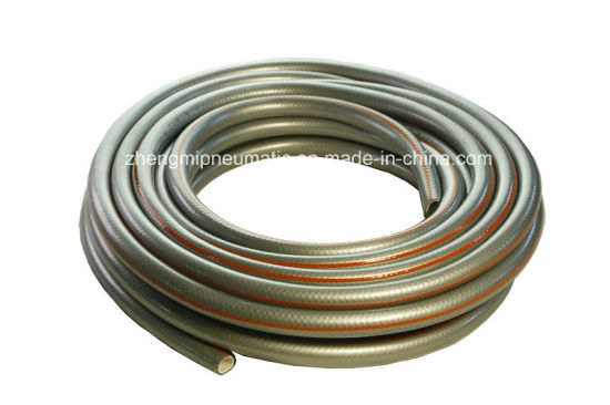 5/8′′ 20m PVC Garden Hose&Water Valve (brass fitting male and female) pictures & photos