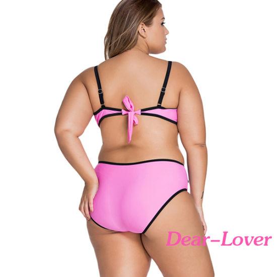 ba88e13a56 China Colorful Vibrant Colorblock Plus Size Swimsuit - China Bikini ...