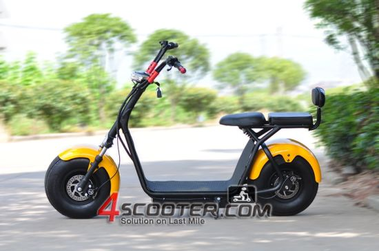 Classic City Cool Harley Electric Mobility Scooter 2 Seats Christmas Gift Es8004 pictures & photos