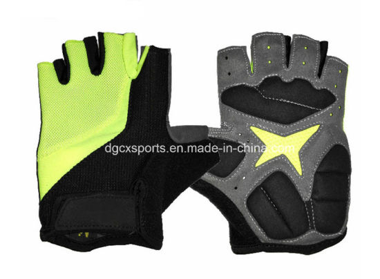 Comfortable Bicycle Glove with Hald Finger