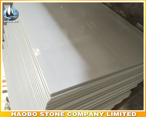 Pure White Crystallized Glass Stone Wholesale pictures & photos