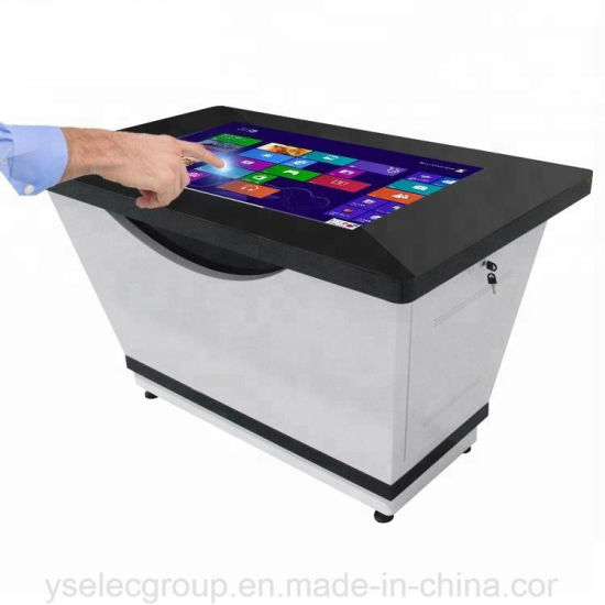 china yashi 32 42 55 interactive touch screen coffee table