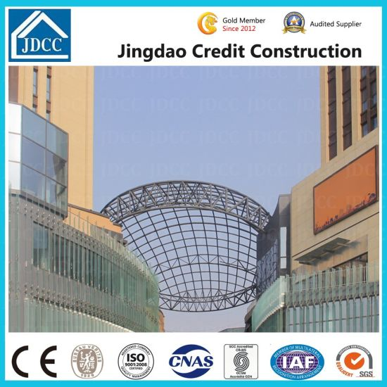 Jdcc Brand Special Shapes Arc Steel Structure Building pictures & photos