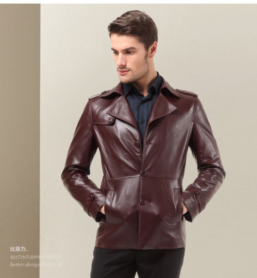 6d3f019cc OEM Plus Size Latest Fasion Winter Office Men′s Leather Jackets