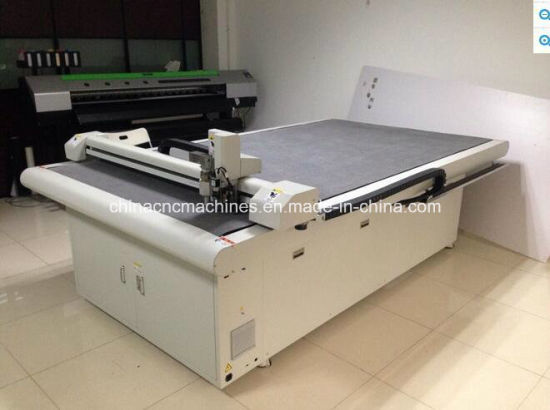 Oscillating Knife Cutter Plotter CNC Machine EVA/Foam/Rubber Cutting pictures & photos